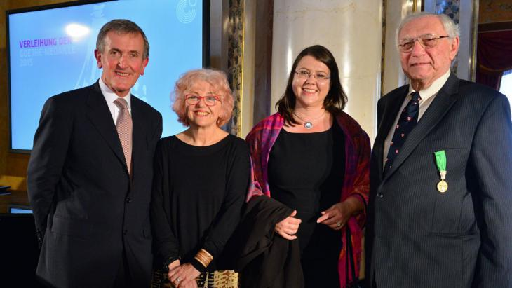 Winners of the Goethe Medal 2015 (photo: picture-alliance/dpa/M. Schutt)