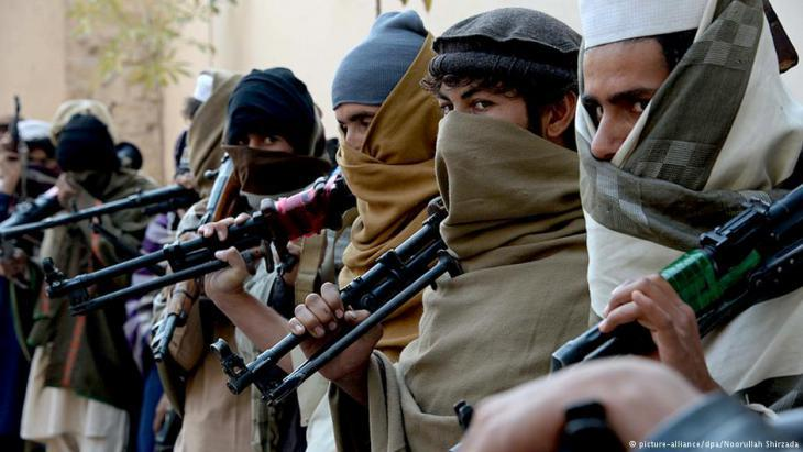 Taliban rebels in Afghanistan (photo: dpa/picture-alliance)