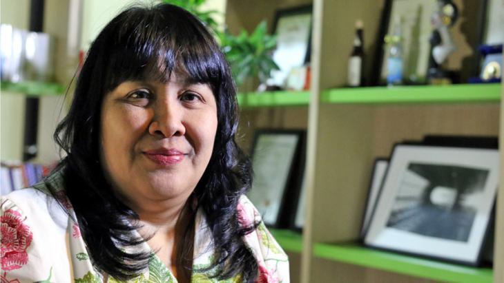 The Indonesian writer Leila Chudori (photo: GIGABYTE)