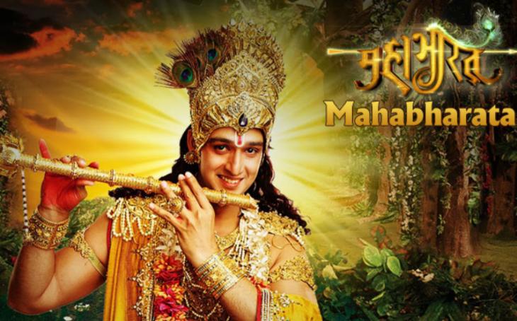 Screenshot from the ″Mahabharata″ TV series