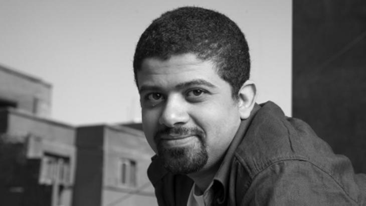 The Egyptian film director Ahmad Abdallah (photo: Cairo International Film Festival/Ahmad Abdallah)