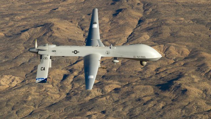 US military drone MQ-1 Predator (photo: picture-alliance/dpa/U.S. Air Force/Tech. Sgt. E. Lopez)