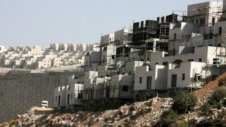 Jewish settlement construction near Bethlehem on the West Bank (photo: picture alliance/dpa)