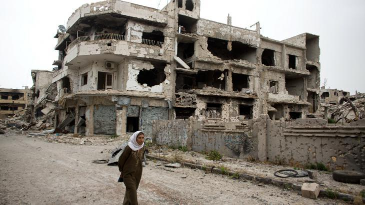 Destroyed Homs (photo: Getty Images/AP Photo/D. Vranic)