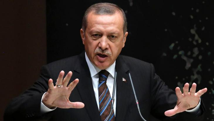 Turkey's president, Recep Tayyip Erdogan (photo: Getty Images/AFP/A. Altan)