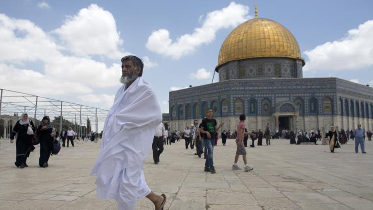 Temple Mount in Jerusalem (photo: AFP/Getty Images/Ahmad Gharabli)