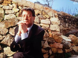 The Palestinian poet Mahmoud Darwish (photo: AP)