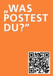 "The online ""Was postest du?"" campaign, aimed at educating Muslim teenagers (source: ufuq.de)"