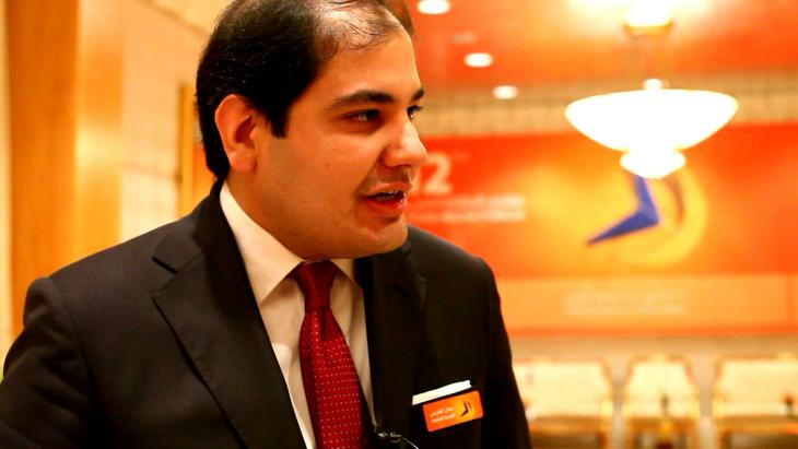 Adel Al Toraifi, Saudi Arabia's Culture and Information Ministry (photo: YouTube)