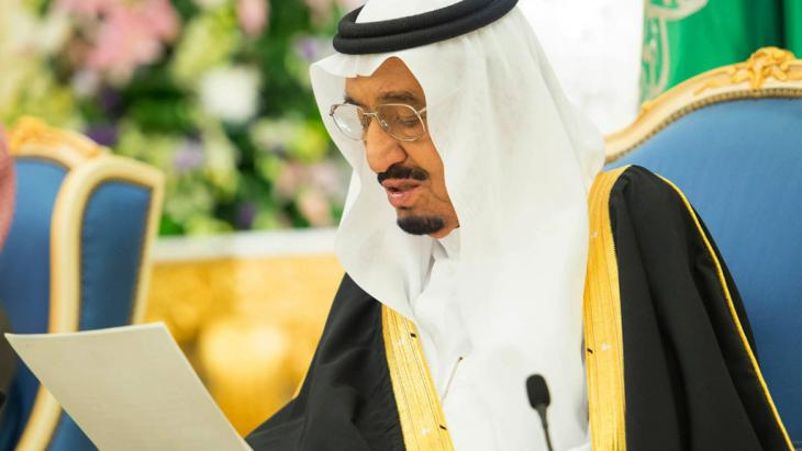 King Salman Ibn Abdel Aziz Al Saud of Saudi Arabia (photo: picture-alliance/AP Photo/SPA)