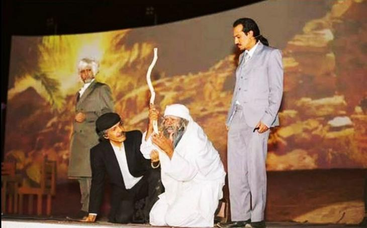 Play about the pre-Islamic poet Labid staged during the Okaz Festival in Saudi Arabia (photo: private)