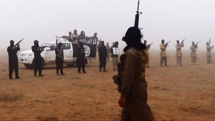 IS jihadists in Iraq (photo: picture-alliance/AP)
