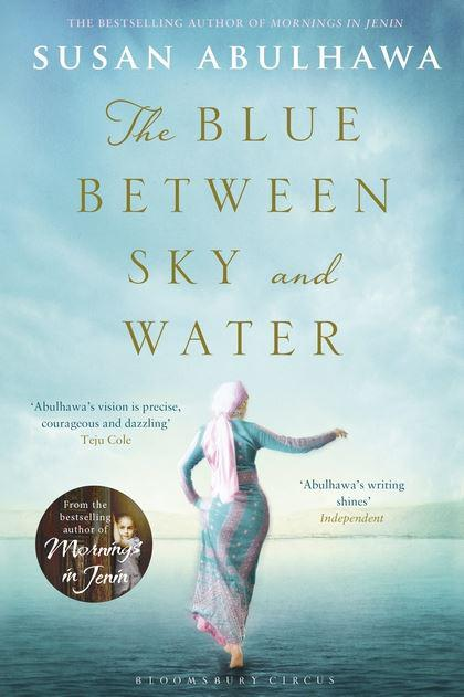 Book cover: ″The Blue Between Sky and Water″ (published by Bloomsbury)