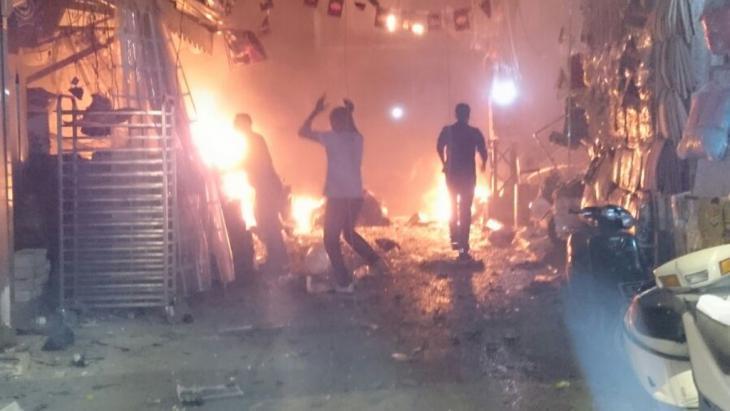 IS attack on Beirut, Lebanon on 12.11.2015 (photo: picture-alliance/ZUMAPRESS/N. Lebanon)