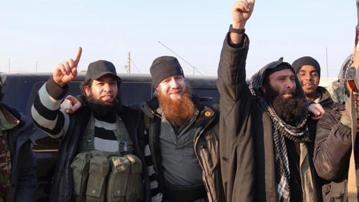 IS jihadists in Syria (photo: Deutsche Welle)