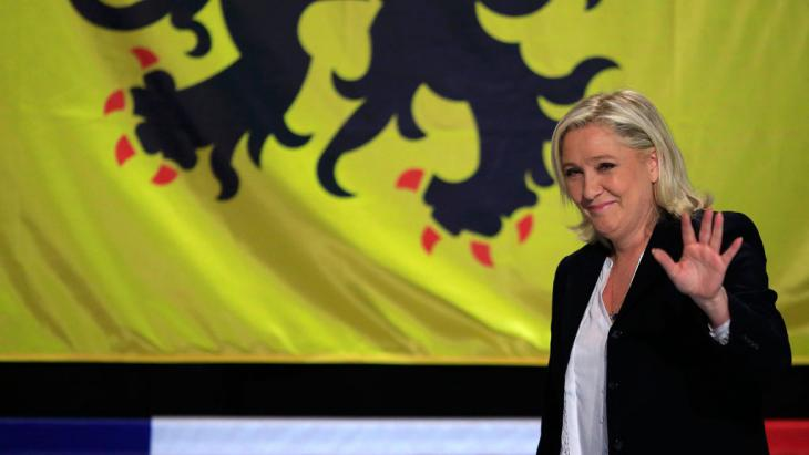 "Marine Le Pen vom rechtsextremen ""Front National"" (FN); Foto: Reuters/P. Rossignol"
