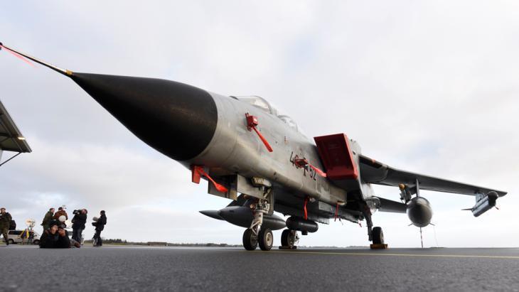 German Tornado fighter jet (photo: Reuters/F. Bimmer)