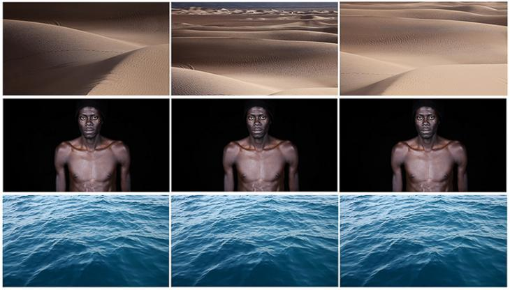 Leila Alaoui′s ″Crossings″ video still (source: Leila Alaoui)