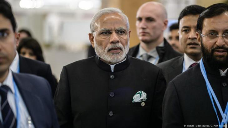 Narendra Modi, Prime Minister of India (photo: picture-alliance/dpa)