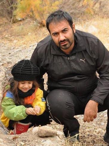 The Iranian blogger Soheil Arabi (photo: Masihian Zendani)