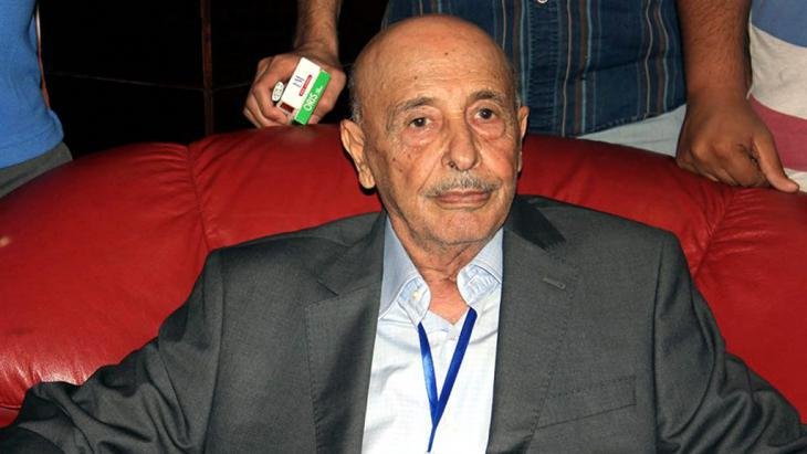 Akila Saleh, president of the internationally recognised parliament in the East Libyan town of Tobruk (photo: picture-alliance/dpa/Str)