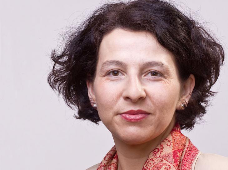 Viola B. Georgi von der Universität Hildesheim; Quelle: Isa Lange/Uni Hildesheim