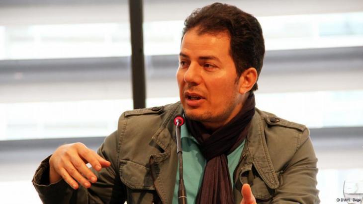 The writer Hamed Abdel-Samad (photo: Deutsche Welle)