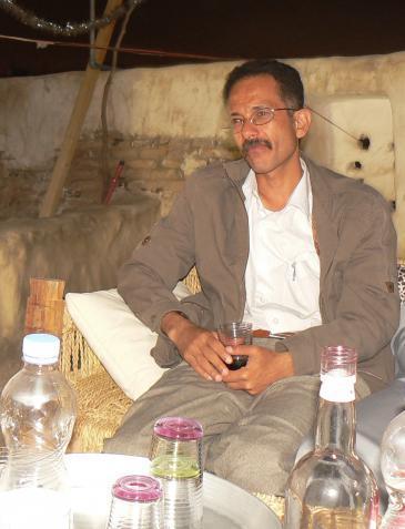 The Yemeni author Ali al-Muqri (photo: Gunther Orth)