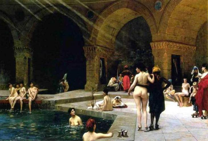 ″Harem Pool″ by Jean-Leon Gerome (source: private)