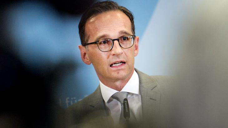 Federal Justice Minister Heiko Maas (photo: picture-alliance/dpa/P. Zinken)