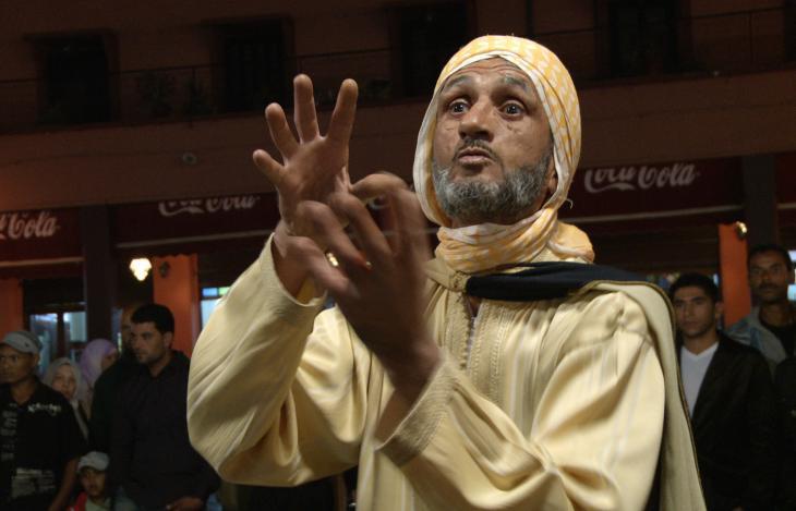 Storyteller Abderrahim El Makkouri (photo: © Thomas Ladenburger)