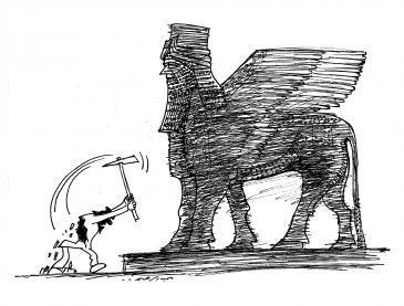 Caricature by Abdul Raheem Yassir (photo: Abdul Raheem Yassir)