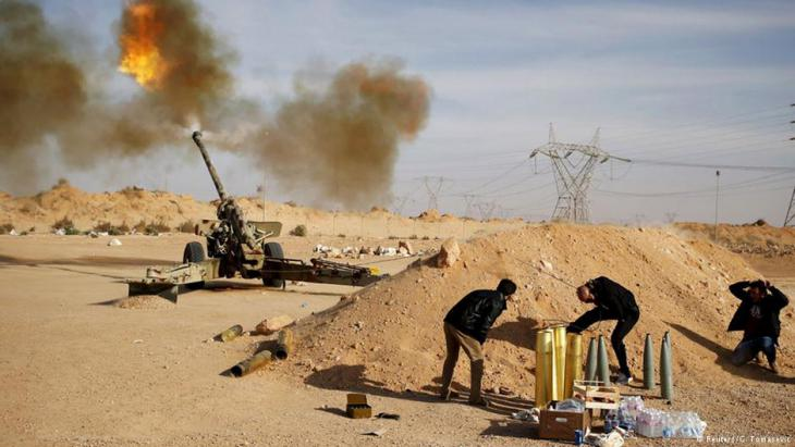 Armed conflict between warring factions in Libya (photo: Deutsche Welle)