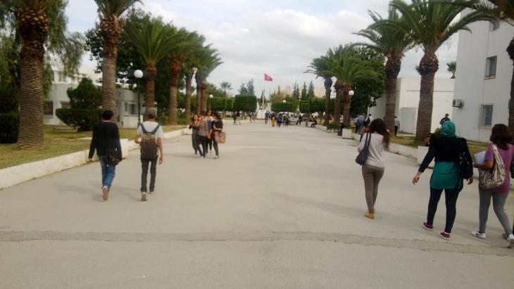 La Manouba University in Tunis (photo: DW/M. Marwa)