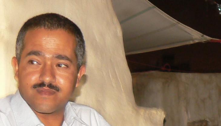 The Yemeni author Wajdi Al Ahdal (photo: Günther Orth)
