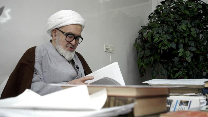 Ayatollah Hossein-Ali Montazeri (photo: Getty Images)
