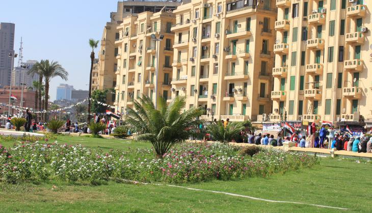 Tahrir Square in August 2015 (photo: Sofian Philip Naceur)