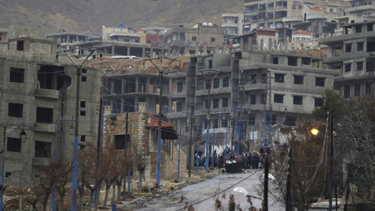 The besieged Syrian town of Madaya (photo: Reuters/O. Sanadiki)
