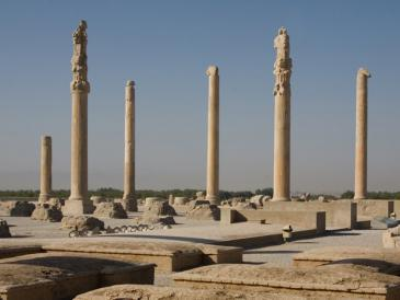 Persepolis was the capital of Ancient Persia under the Achaemenids (photo: picture-alliance/dpa/Boris Roessler)