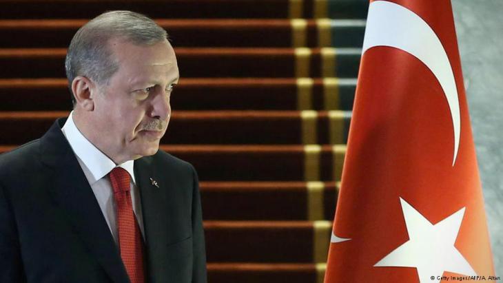 Der türkische Präsident Recep Tayyip Erdoğan; Foto: Getty Images/AFP