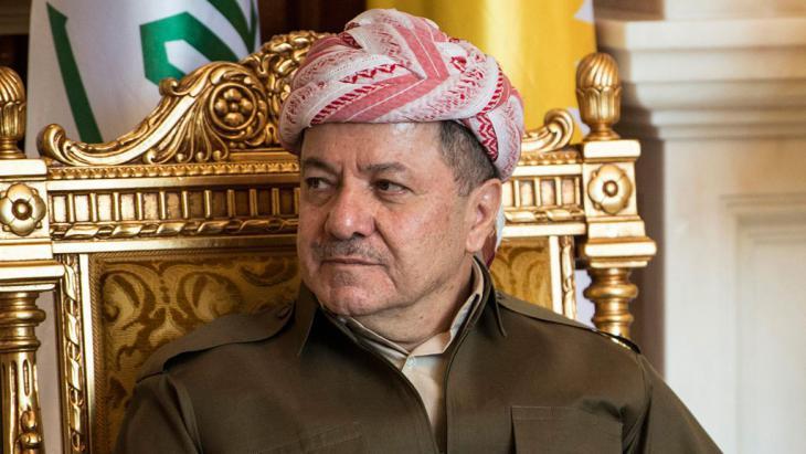 Massoud Barzani (photo: Reuters)
