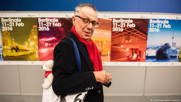 Dieter Kosslick, director of the Berlinale since 2001 (photo: Getty Images/AFP/O. Andersen)