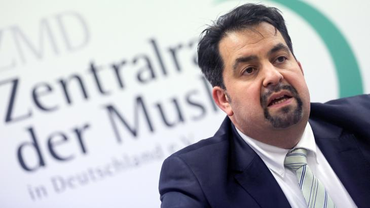 Aiman Mazyek, chairman of the Central Council of Muslims in Germany (photo: picture-alliance/dpa/O. Berg)