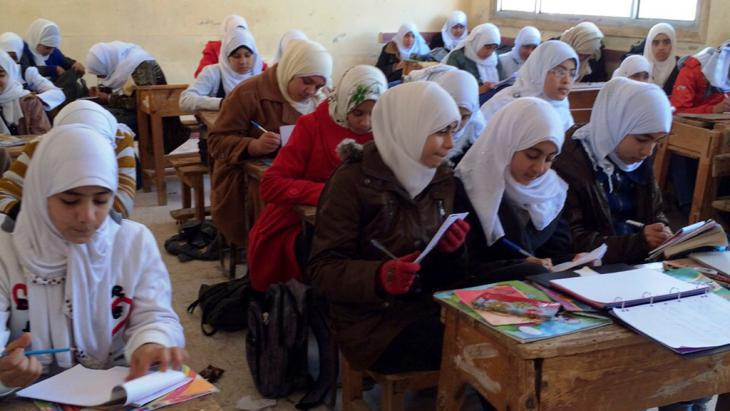 Religious education in Sharkya, Egypt (photo: DW/Reham Mokbel)