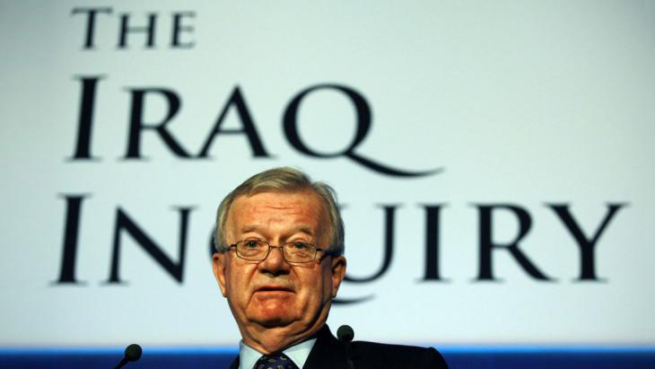 Sir John Chilcot, chairman of the Iraq inquiry committee (photo: picture alliance/Photoshot)