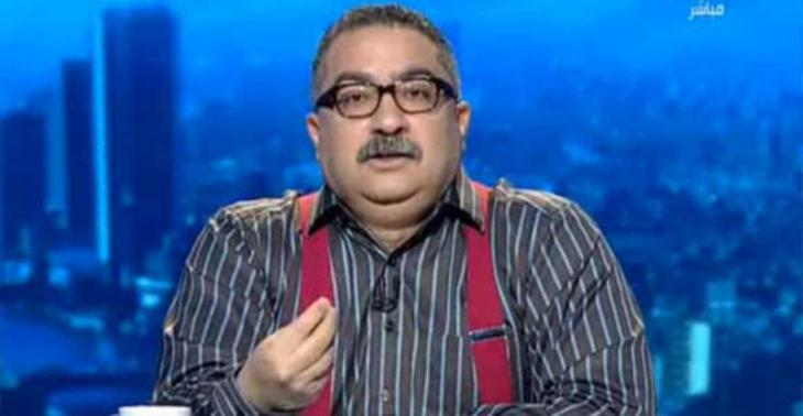 The Egyptian columnist Ibrahim Eissa (photo: arab TV still)