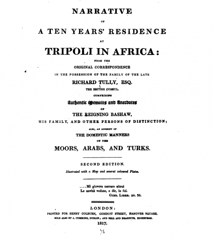 First edition frontispiece (source: digitised by Google, original from the New York Public Library)