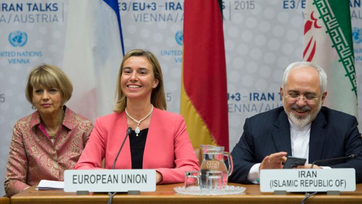 Concluding the nuclear agreement in Vienna with Iran (photo: Mehr)