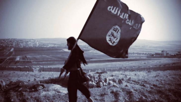 ″Islamic State″ (IS) militant (source: Deutsche Welle)