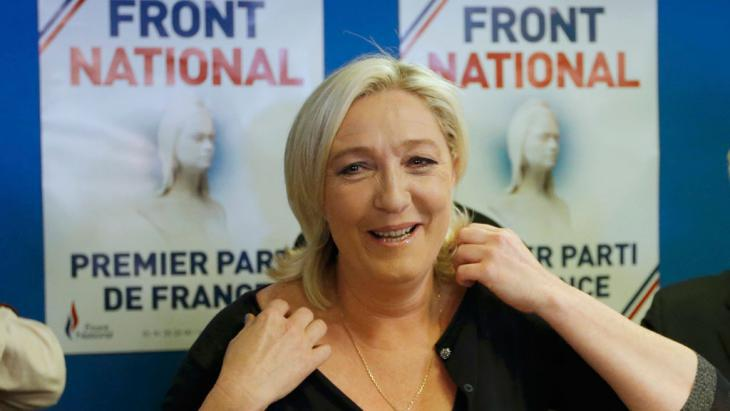 Marine Le Pen (photo: Reuters)